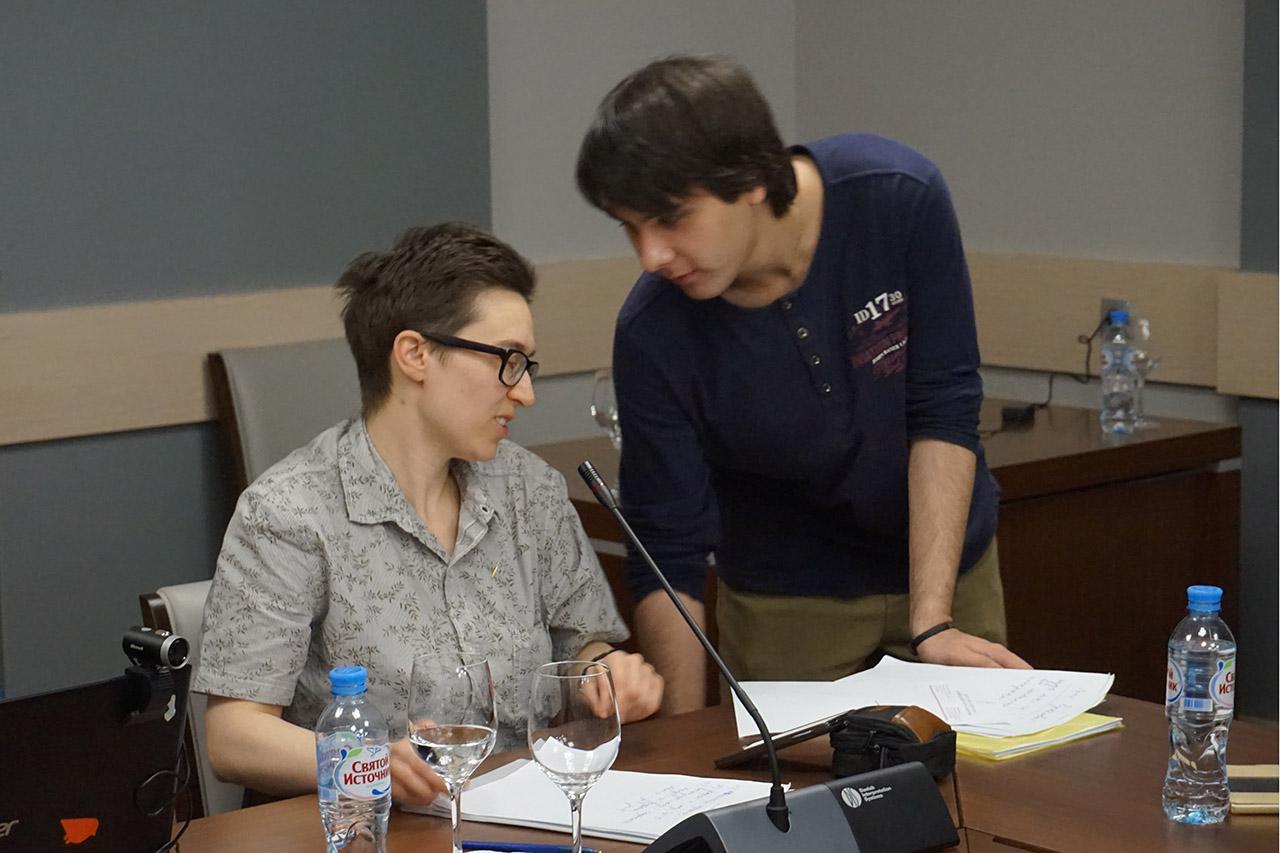 Александра Андреева и Андрей Новичков