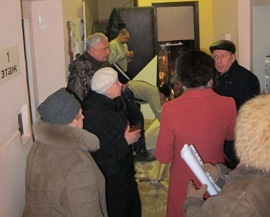 Е.А.Шувалова на встрече с жителями