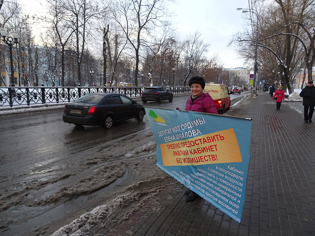 Елена Шувалова выступает против чинимых препятствий депутатской работе