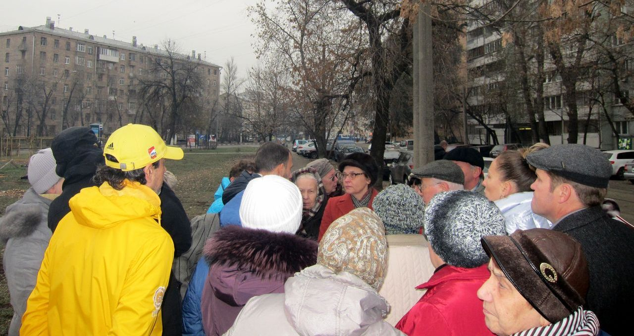 Жители Таганского района против строительства гостиницы Хилтон