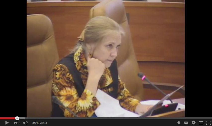 Мосгордума: выступление Е.А.Шуваловой по поправкам о состоянии законодательства