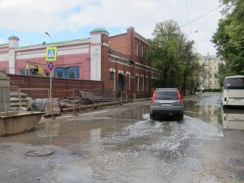 Троллейбусный парк имени Петра Матвеевича Щепетильникова