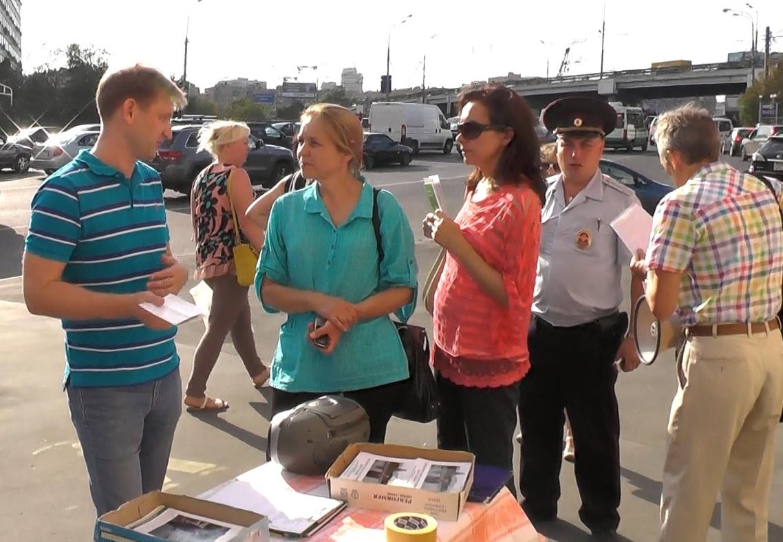 Е.А.Шувалова встречается с избирателями на Новослободской