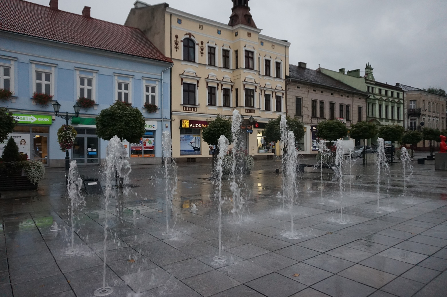 Центр города Освенцим