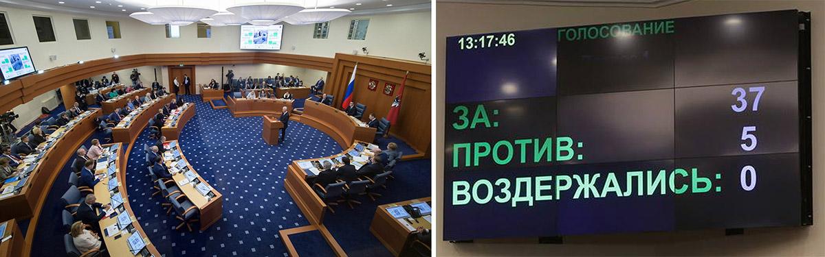 Отчёт Собянина в Мосгордуме 2016