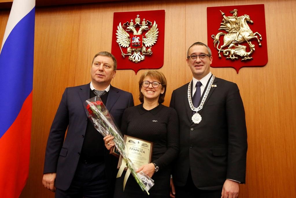 Руководители Мосгордумы Шапошников и Метельский