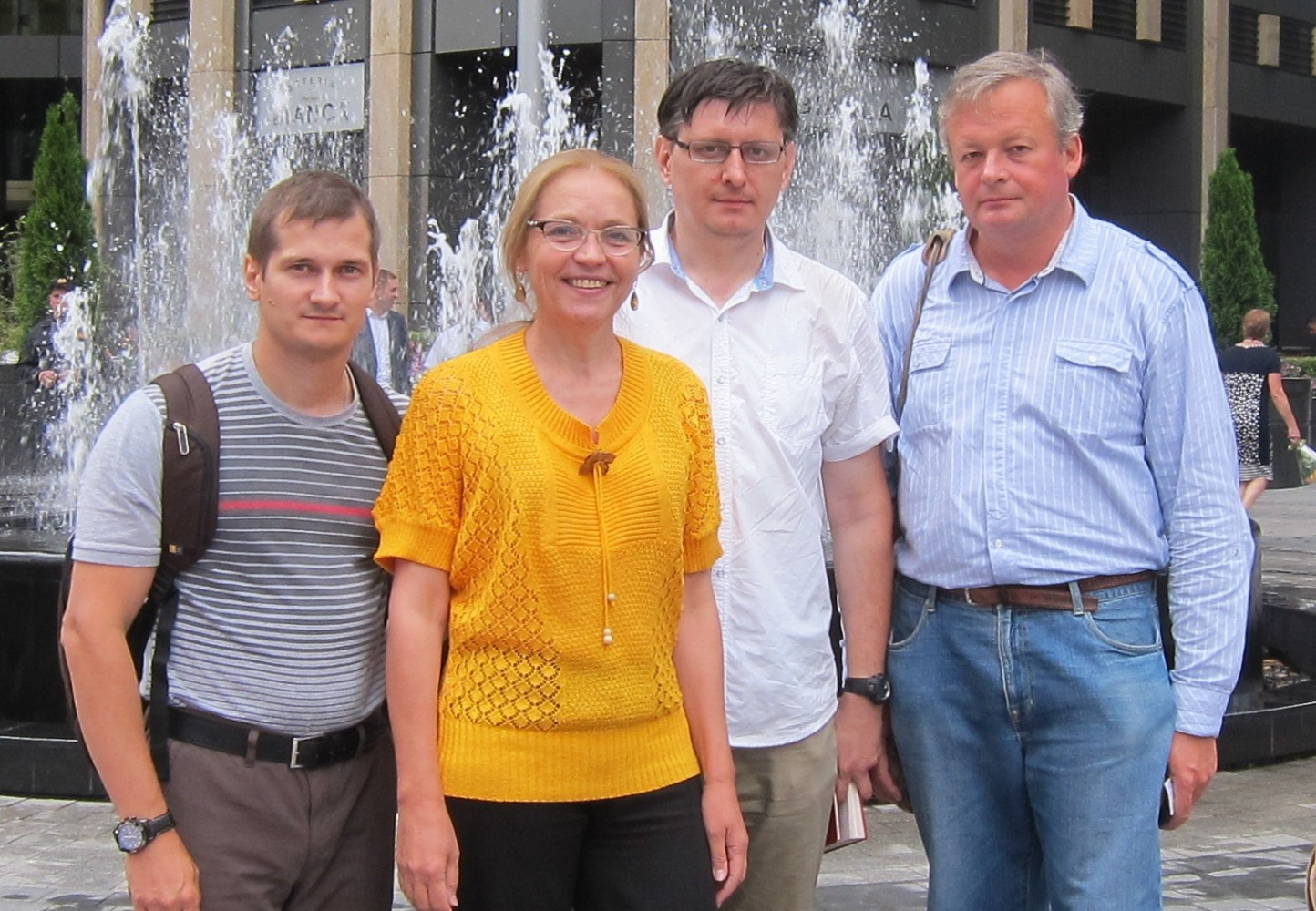 Е.А.Шувалова с соратниками