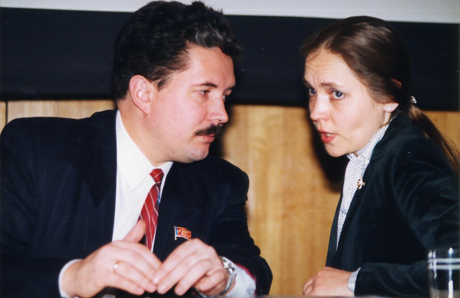 Сергей Бабурин и Елена Шувалова