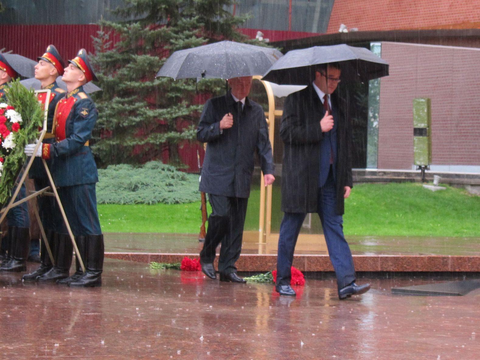 Мэр Москвы С.С.Собянин и Председатель Мосгордумы А.В.Шапошников