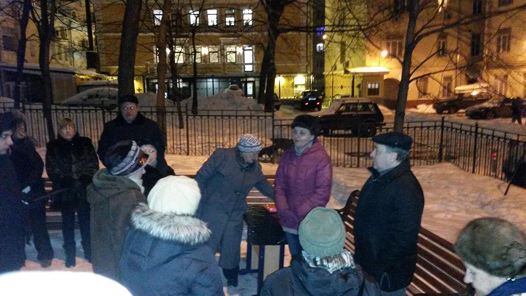 Встреч с избирателями в Замоскворечье