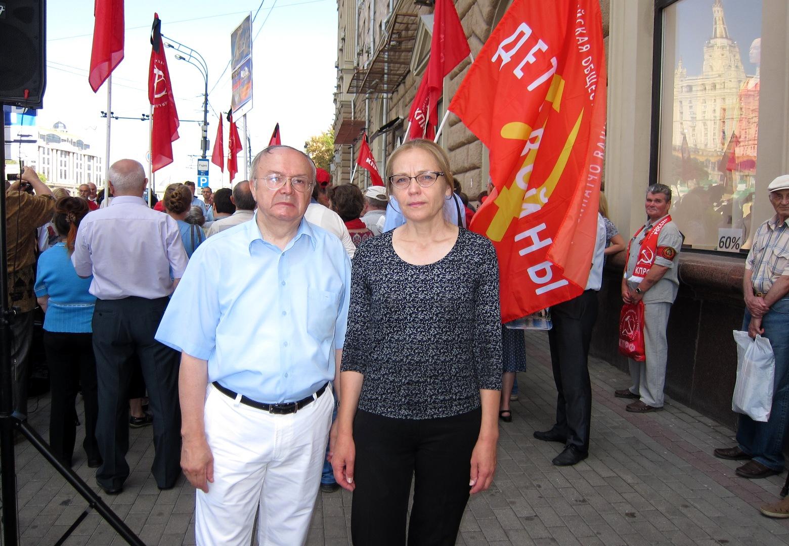 Е.А.Шувалова и Ю.Е.Лапин