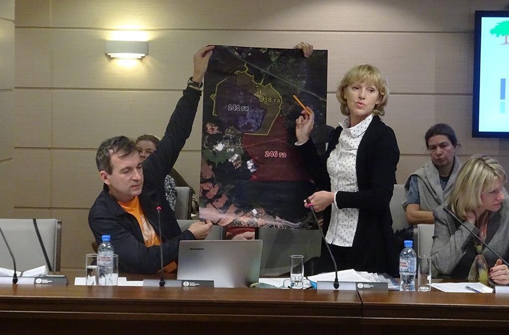 Защитники Бутовского леса на круглом столе в Мосгордуме